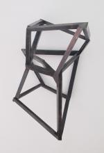 Das, was im Kopf ist, 2014 Stahl, 70 x 44 x 35 cm